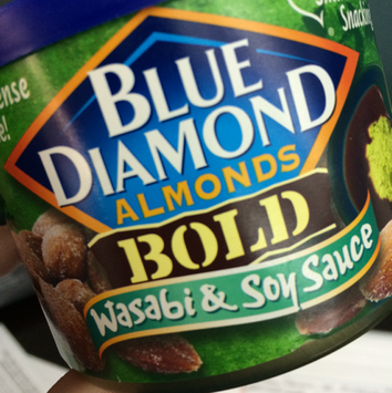 Photo of Blue Diamond® Bold Wasabi & Soy Sauce Almonds uploaded by Jamie G.