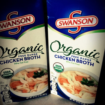 Photo of Campbell's Swanson Organic Chicken Broth uploaded by Amber C.