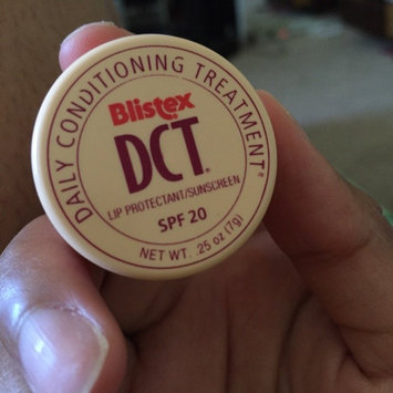 Photo of Blistex DCT Daily Conditioning Treatment, SPF 20 uploaded by Angela I.