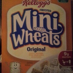 Photo of Frosted Mini-Wheats Cereal Original uploaded by ali w.