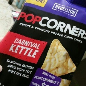 Popcorners Kettle Popped Corn Chips uploaded by Ashley-Rahne M.
