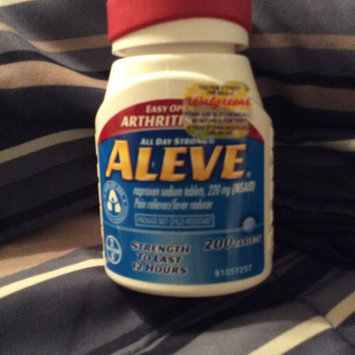 Aleve Tablets with Easy Open Arthritis Cap uploaded by M. J. H.