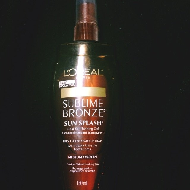 L'Oréal Sublime Bronze Clear Self-Tanning Gel for Body uploaded by Meagan W.