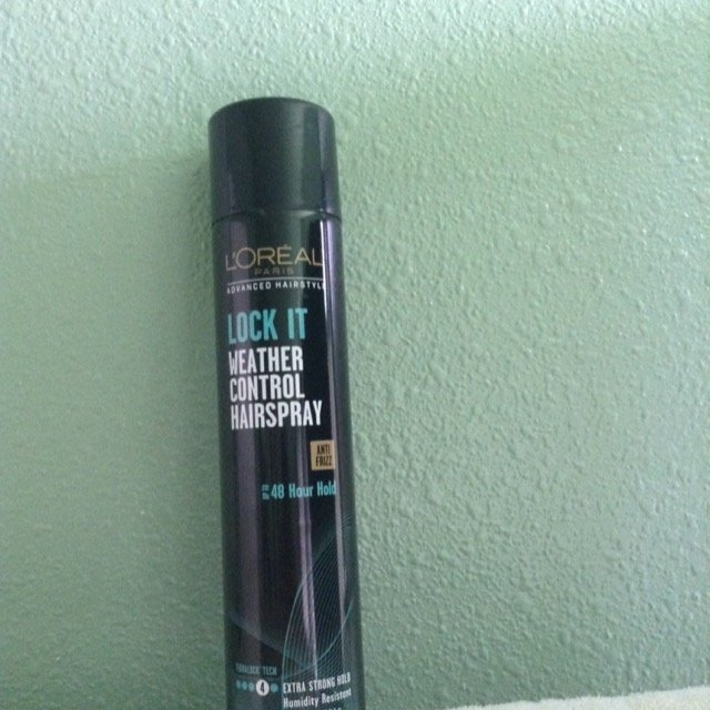 L'Oréal Paris Advanced Hairstyle Lock It Weather Control Hairspray, 8. uploaded by Miriam H.