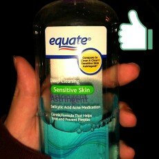 Equate Sensitive Skin Deep Cleaning Astringent, 8 fl oz uploaded by Natasha G.