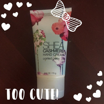 Photo of Bath & Body Works Signature Collection Carried Away Shea Cashmere Hand Cream uploaded by Storm B.
