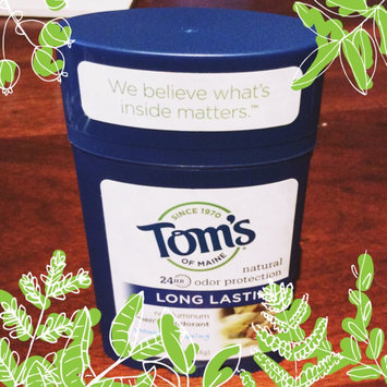 Photo of Tom's OF MAINE Mountain Spring Men's Long Lasting Wide Stick Deodorant uploaded by Emily V.