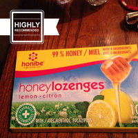 Honey Cough Drops - 100% pure Honey Cough Drop Lozenges with Menthol and Eucalyptus - Pack of 10 Pure Honey Cough Drops w/ Lemon for Cough Relief from Honibe uploaded by Jennifer R.