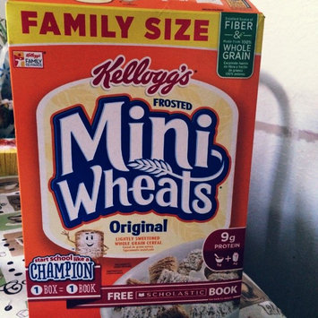 Photo of Frosted Mini-Wheats Cereal Original uploaded by Diana R.