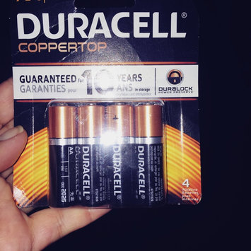 Duracell Coppertop AA Alkaline Batteries uploaded by Nelly l.
