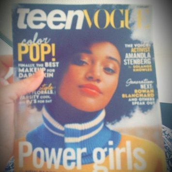 Photo of Teen Vogue Magazine uploaded by Giuliana M.
