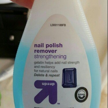 Up & up Strengthening Nail Polish Remover uploaded by Danielle E. H.
