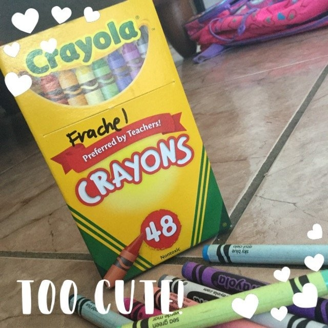 Crayola Crayons Assorted Colors 48 Count uploaded by Glerysbeth R.