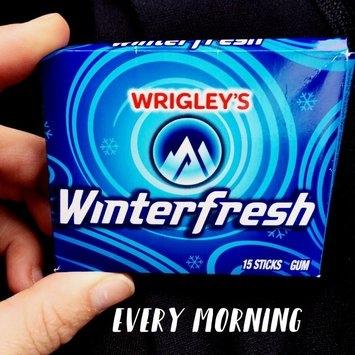 Wrigley's Winterfresh Gum uploaded by Cori M.