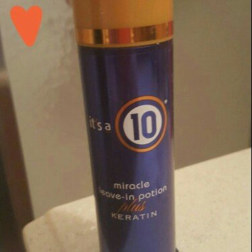 Photo of It's a 10 Miracle Leave In Potion Plus Keratin uploaded by Kari B.