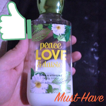 Photo of Lot of 3 Bath & Body Works Peace, Love & Daisies Shea & Vitamin E Body Lotion 8 Fl Oz Each (Peace Love & Daisies) uploaded by Alyssa G.