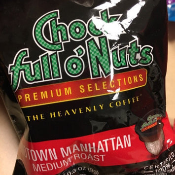 Photo of Chock Full o'Nuts Medium Roast Coffee Midtown Manhattan Single Serve Cups uploaded by Shanice D.