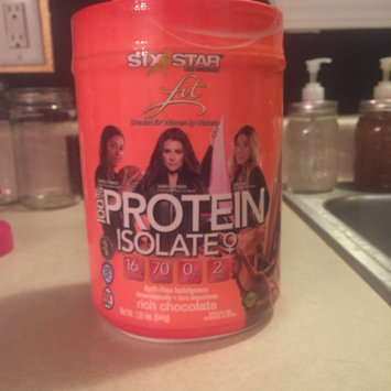 Photo of Six Star Fit Lean Protein, Chocolate, 1.2 lb uploaded by Samie W.