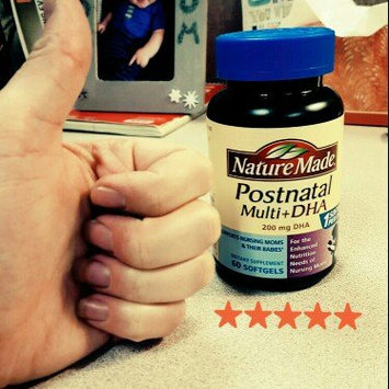 Photo of Nature Made Postnatal Multi+DHA 200 mg DHA uploaded by Ashley W.
