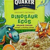 Quaker Instant Oatmeal Dinosaur Eggs Brown Sugar - 8 CT uploaded by Jennifer I.