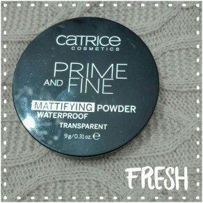 Photo of Catrice Prime & Fine Waterproof Mattifying Powder uploaded by Eva G.