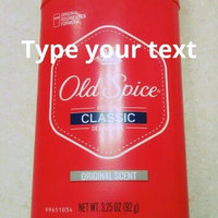 Old Spice Classic Deodorant Stick uploaded by Tonya H.