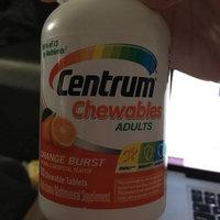 Centrum Multivitamin / Multimineral Supplement Orange flavored  Chewables 100 ct uploaded by Brandi C.