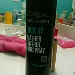 L'Oréal Paris Advanced Hairstyle Lock It Weather Control Hairspray, 8. uploaded by Daniela E.