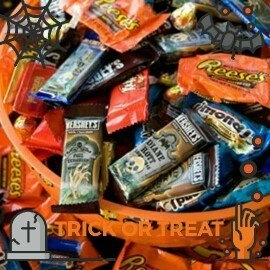 Hershey's Halloween Assorted Candy, 55 count uploaded by Becky B.
