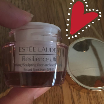 Photo of Estée Lauder Resilience Lift Firming/Sculpting Face and Neck Creme SPF 15 uploaded by Marisol G.