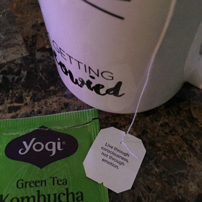 Yogi Tea Green Tea Super Antioxidant uploaded by Jillian R.