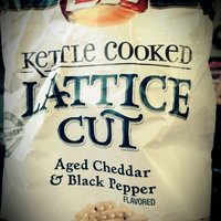 LAY'S® Kettle Cooked Lattice Cut Chips Roasted Garlic & Sea Salt uploaded by Cassidy W.