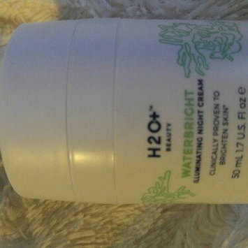 Photo of H2O Plus Waterbright Illuminating Night Cream uploaded by Rosita G.