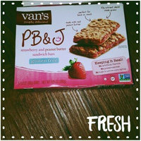 Van's Natural Foods PB&J Strawberry and Peanut Butter Sandwich Bars - 5 CT uploaded by Faith M.