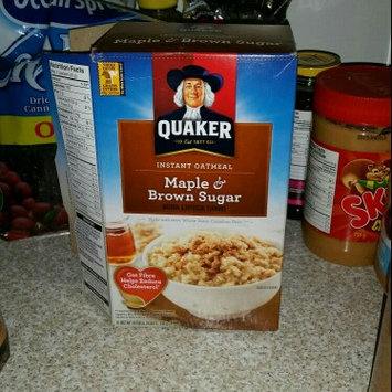 Photo of Quaker Instant Oatmeal Maple & Brown Sugar - 10 CT uploaded by Melissa G.
