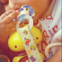 BooginHead Pacigrip Pacifier Clip - Blue & Green Stripe Leap Frog uploaded by Cathy S.