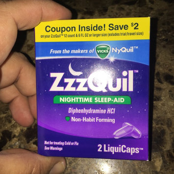Photo of ZzzQuil™ Soothing Mango Berry Alcohol Free Liquid uploaded by Mariana L.