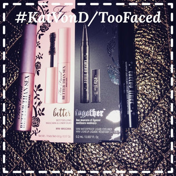 Kat Von D Too Faced X Better Together Bestselling Mascara & Liner Duo uploaded by Allison B.