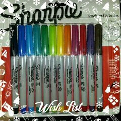 Photo of Sharpie Ultra Fine Point Permanent Markers - 12ct uploaded by penny l.