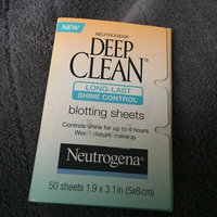 Neutrogena® Deep Clean Shine Control Blotting Sheets uploaded by Alicia B.