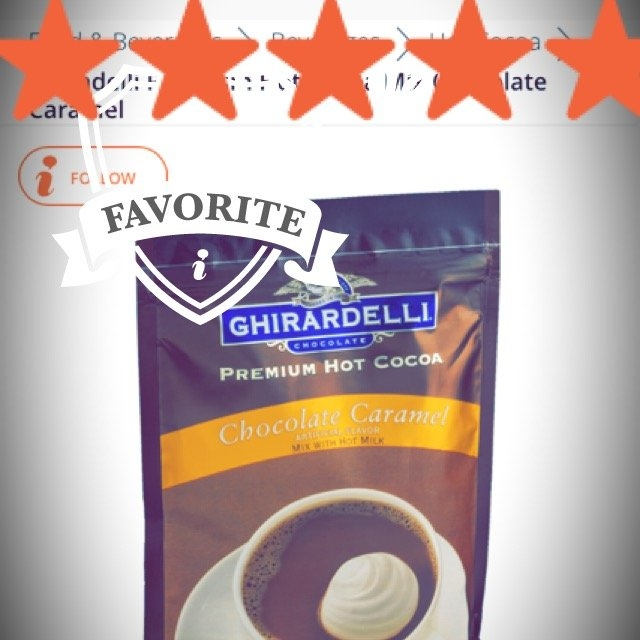 Ghiradelli Premium Hot Cocoa Mix Chocolate Caramel uploaded by Janelle D.
