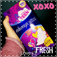 Always Radiant Teen Regular Pads with Wings uploaded by Kaitlyn T.