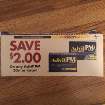 Photo of Advil® PM Caplets uploaded by Sarah M.