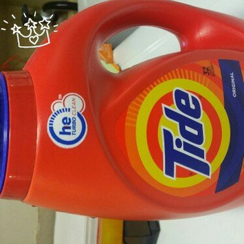 Photo of Tide Original Scent HE Turbo Clean Liquid Laundry Detergent uploaded by barbara b.