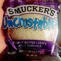 Smucker's Uncrustables Peanut Butter & Grape Jelly Sandwich - 4 CT uploaded by Karyzma L.