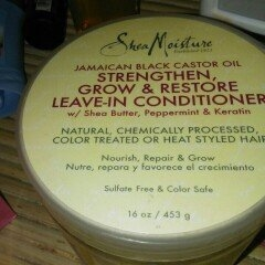 SheaMoisture Strengthen, Grow & Restore Leave-In Conditioner, Jamaican Black Castor Oil, 16 oz uploaded by member-d9845fa6f