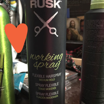 RUSK Working Spray - 10 oz. uploaded by Stephanie G.