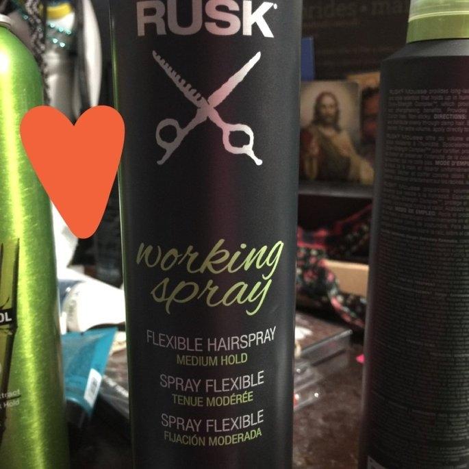 RUSK Working Spray - 10 oz. uploaded by Stephanie G.