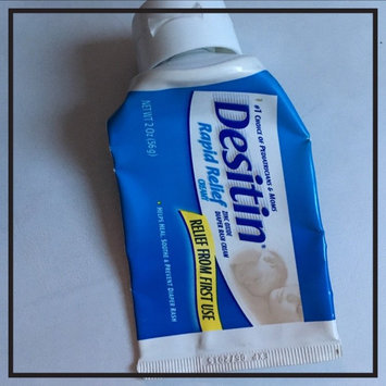 Photo of Desitin Rapid Relief Diaper Rash Ointment uploaded by Nadia S.