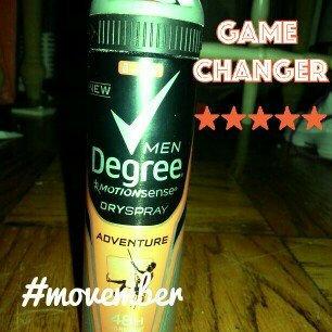 Photo of Degree Men Motionsense dry spray antiperspirant and deodorant uploaded by Summer B.